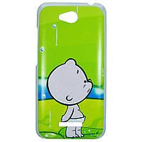 Чехол с рисунком Printed Plastic для HTC Desire 616 Младенец