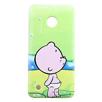 Чехол с рисунком Printed Plastic для Nokia Lumia 530 Младенец