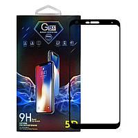 Защитное стекло Premium Glass 5D Side Glue для LG Q7 Black