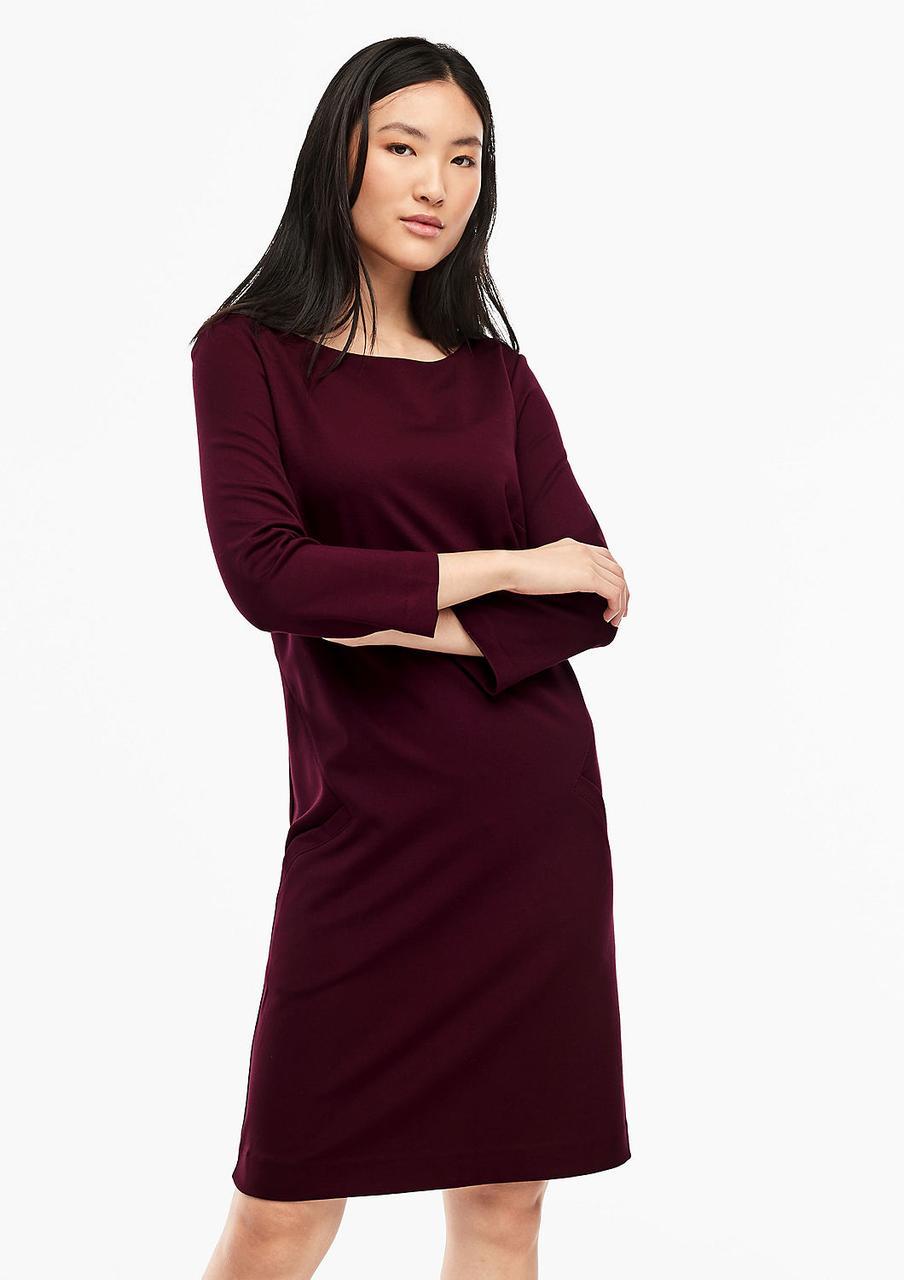 Платье S.Oliver 14.911.82.5270 бордовый