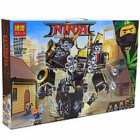 Конструктор Ninja Bela - Робот землетрясений, 1232 детали (10800)