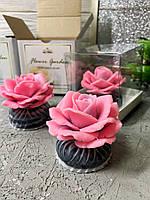 """Подарочный набор парфюмированного мыла «Роза"""""""