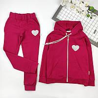Детский спортивный костюм оптом (4шт) на девочек, 116-134