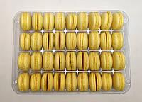 Полуфабрикат для печенья макарон желтый, 36 шт