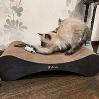 """АКЦИЯ!!!!! Когтеточка для кошек """"Модерн """" с деревянными фасадами"""