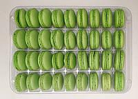 Полуфабрикат для печенья макарон зеленый, 36 шт