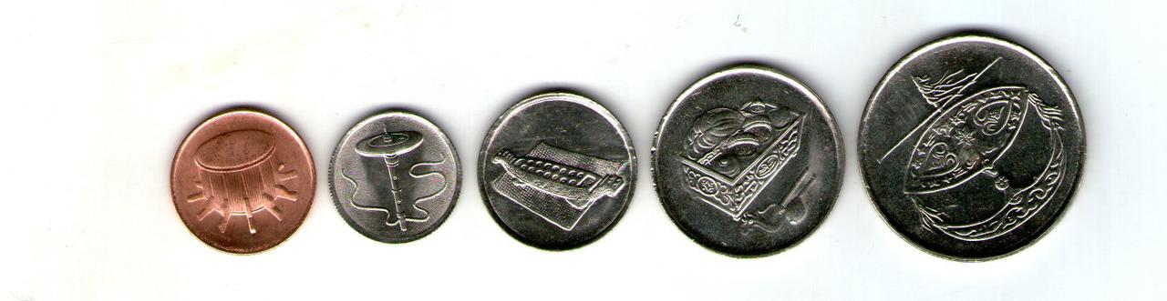 Малайзия набор монет - 5 штук