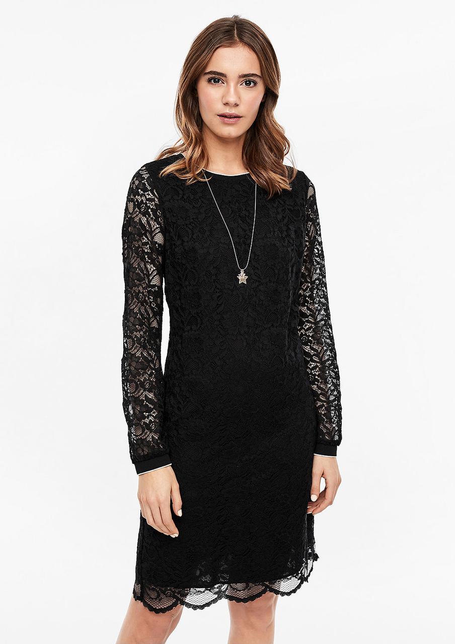 Платье S.Oliver 14.911.82.5580 XS черный