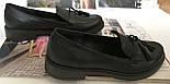 Mercy! Женские черные кожаные лоферы loafer мокасины на низком ходу мерси! Модная новинка!, фото 4