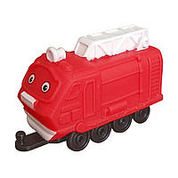 Паровозик Chuggington Ашер с гаражом JW10566/38620/10589 ТМ: Chuggington