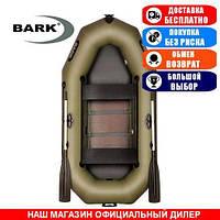 Лодка Bark B-240CD. Гребная; 2,40м, 2мест. 850/950ПВХ, Реечный настил; Надувная лодка ПВХ Барк Б-240СД;