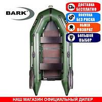 Лодка Bark BT-270. Моторная; 2,70м, 2 места, 1100/1100ПВХ, реечное днище. Надувная лодка ПВХ Барк БТ-270;