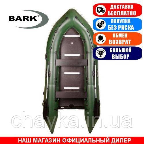 Лодка Bark BN-360S. Моторная; 3,60м, 5 мест, 1100/1100ПВХ, жесткое днище, киль. Надувная лодка ПВХ Барк БН-360С;