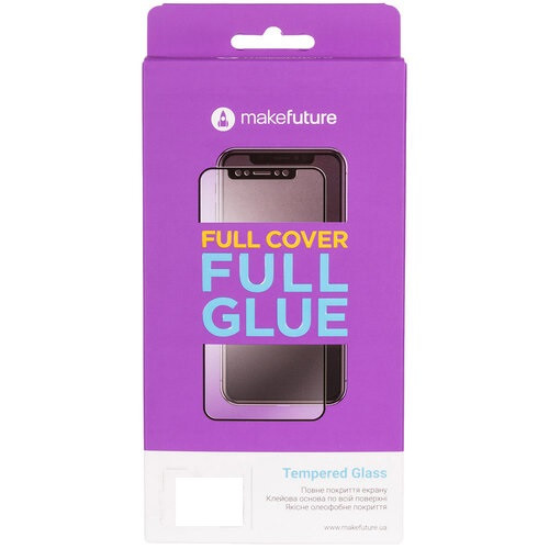 Захисне скло MakeFuture Full Cover Full Glue Vivo Y91C / Y93 Lite (MGF-VY91C)