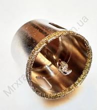 Коронка діамантова 80 мм з керамограніту з центром, ZHWEI