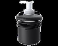 Мыльница с диспенсером для бака для воды, производство Италия, пластик
