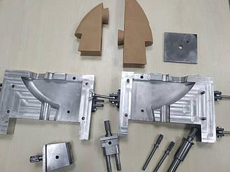 Прес-форма деталі для лиття за виплавлюваними моделями Кронштейн