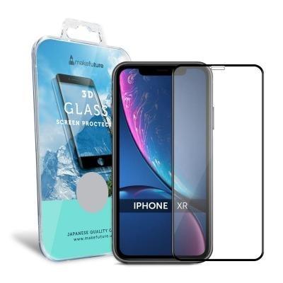 Защитное стекло MakeFuture 3D Apple iPhone XR Black (MG3D-AIXRB)