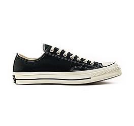 Кеды низкие Converse All Star Chuck 70 Black Low р.39 стелька 25 см (con_173)