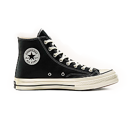 Кеды высокие женские Converse All Star Chuck 70 Black High р.37 стелька 23.5 см (con_182)