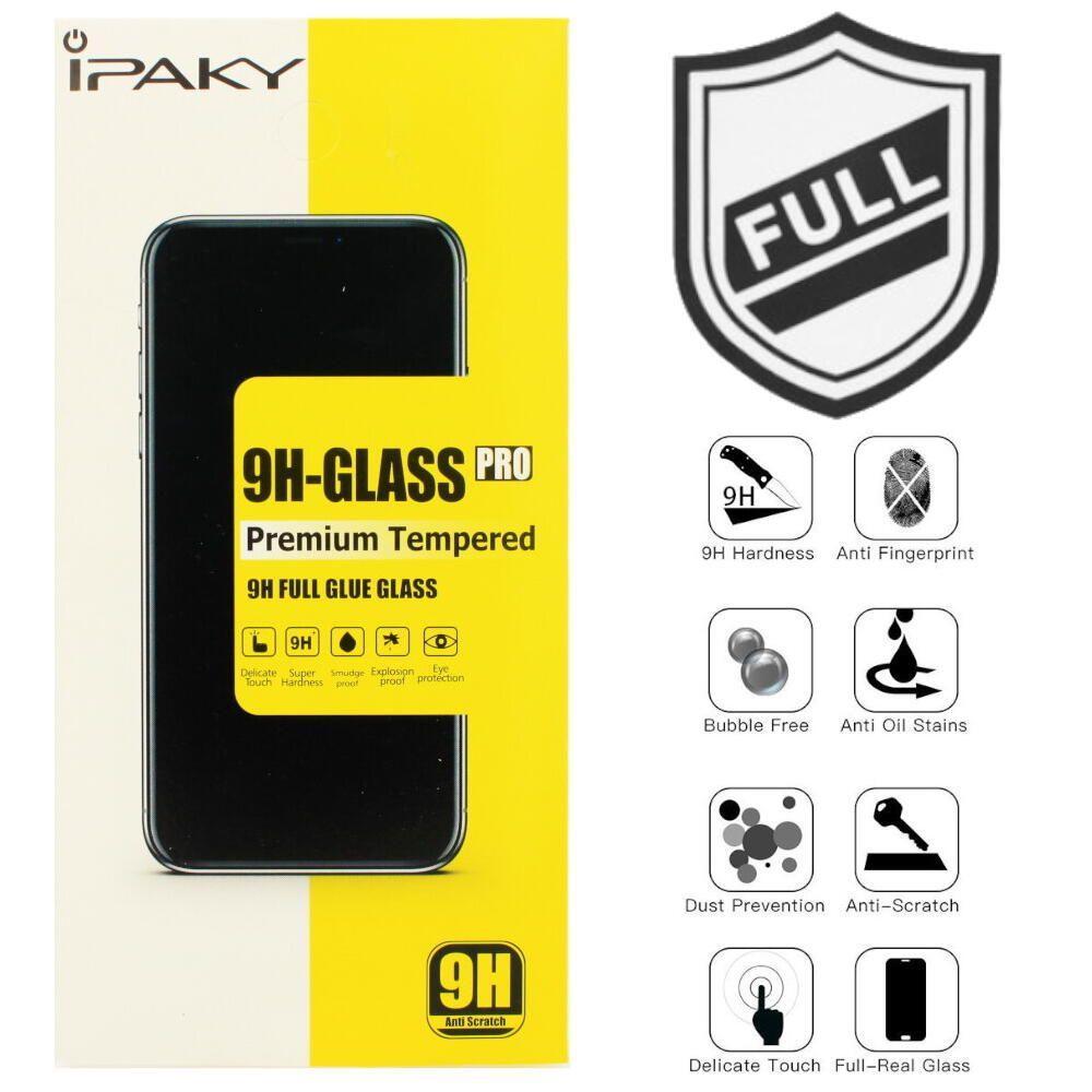 Захисне скло iPaky Tempered Glass Full glue Huawei Y7 2019 black