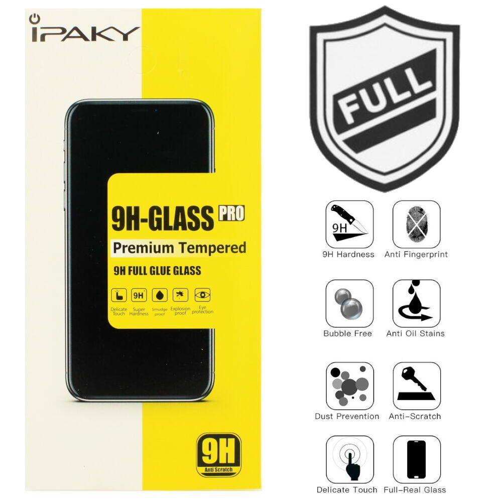Захисне скло iPaky Tempered Glass Full glue Huawei P Smart Z 2019 black
