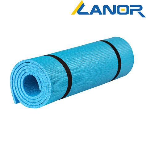 Коврик (каремат) - Аэробика (синий, 1500*500*8), фото 2
