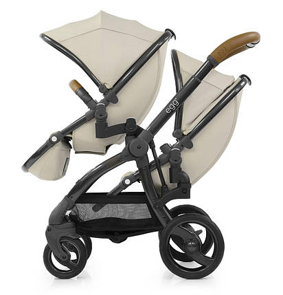 Прогулочная коляска для двойни BabyStyle Egg Tandem, фото 2