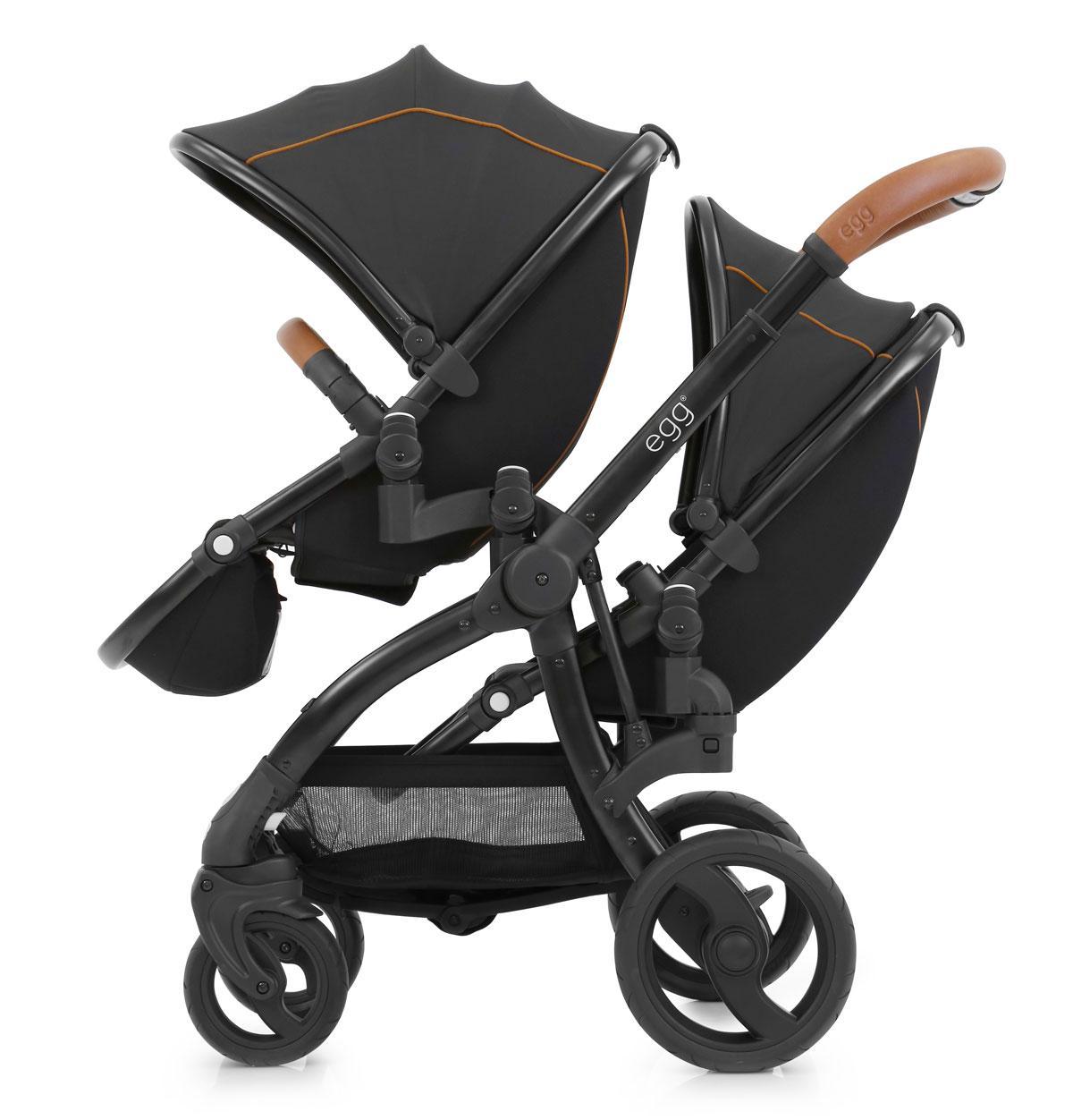 Прогулочная коляска для двойни BabyStyle Egg Tandem