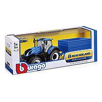 Трактор Bburago New Holland T7Hd 1:32 18-44067 ТМ: Bburago