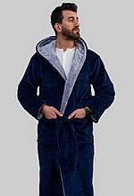 Мужской халат с капюшоном Rojin