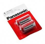 Батарейка Panasonic Red Zink C/LR14 BL 2 шт, фото 2