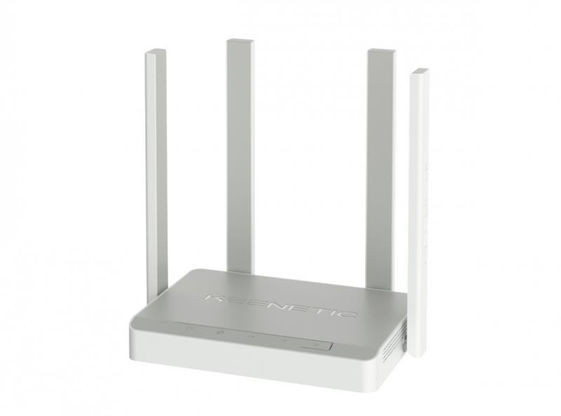 Беспроводной маршрутизатор KEENETIC Extra (KN-1711) (AC1200, 5xFE, 1xUSB, MU-MIMO, ATF, Beamforming, 4 антенны)
