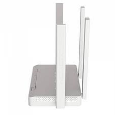 Бездротовий маршрутизатор KEENETIC Extra (KN-1711) (AC1200, 5xFE, 1xUSB, MU-MIMO, ATF, Beamforming, 4 антени), фото 3