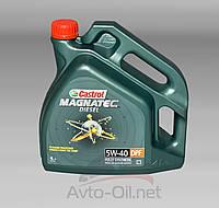 Моторное масло Castrol 5W-40 Magnatec Diesel  DPF 4л, фото 1