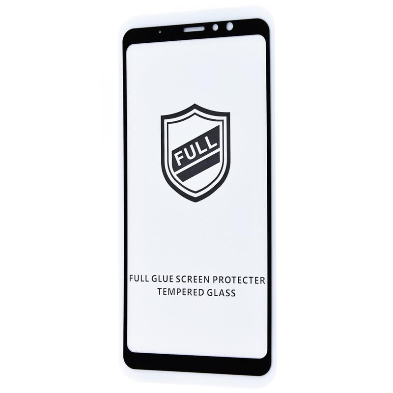 Захисне скло Full Glue HQ Meizu M8 Note без упаковки (black)