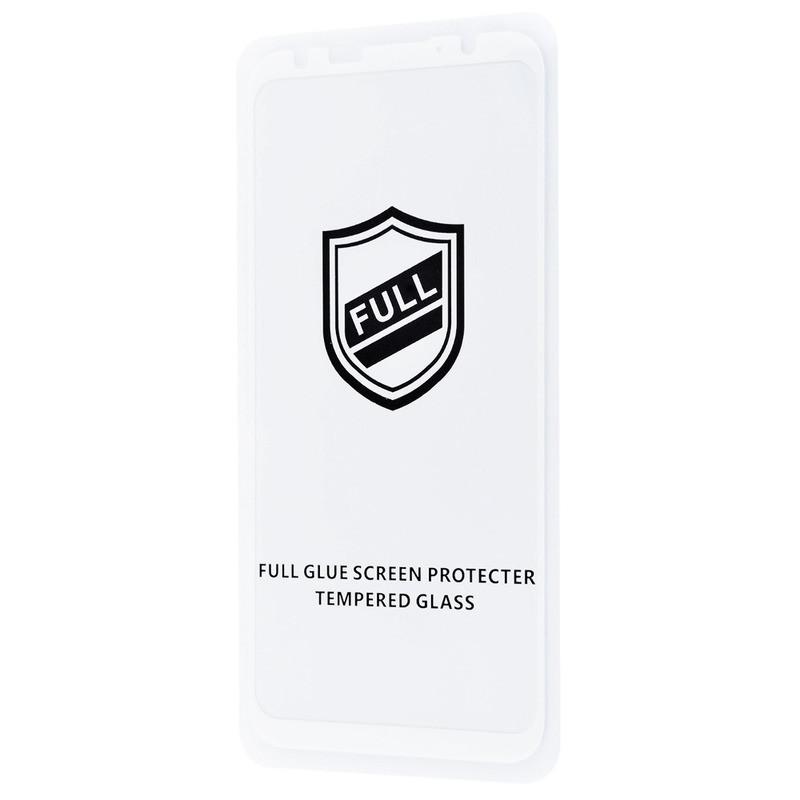 Защитное стекло Full Glue HQ Meizu 16th без упаковки (white)
