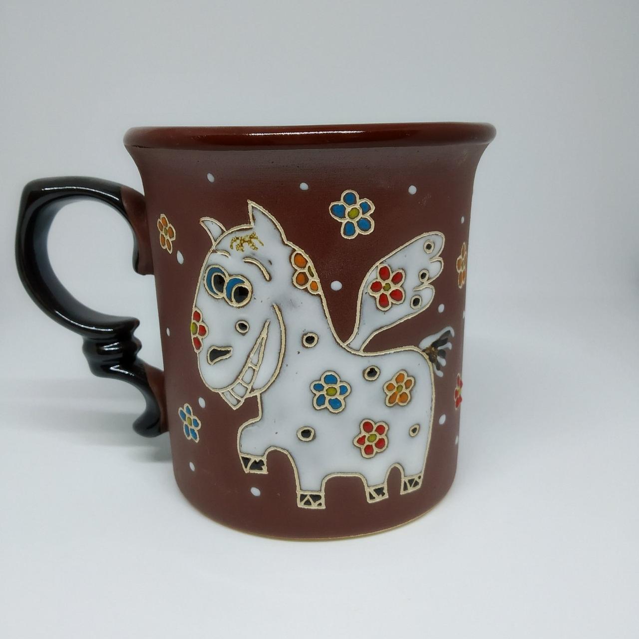 Чашка керамическая «Пегас»