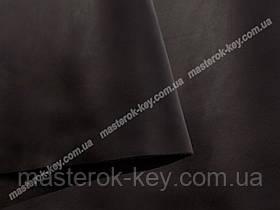 Кожа натуральная Крейзи Хорс т.1,4-1,6мм цвет черный