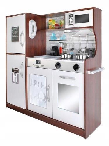 Большая детская деревянная кухня Promis MD 2319 со звуковыми эффектами