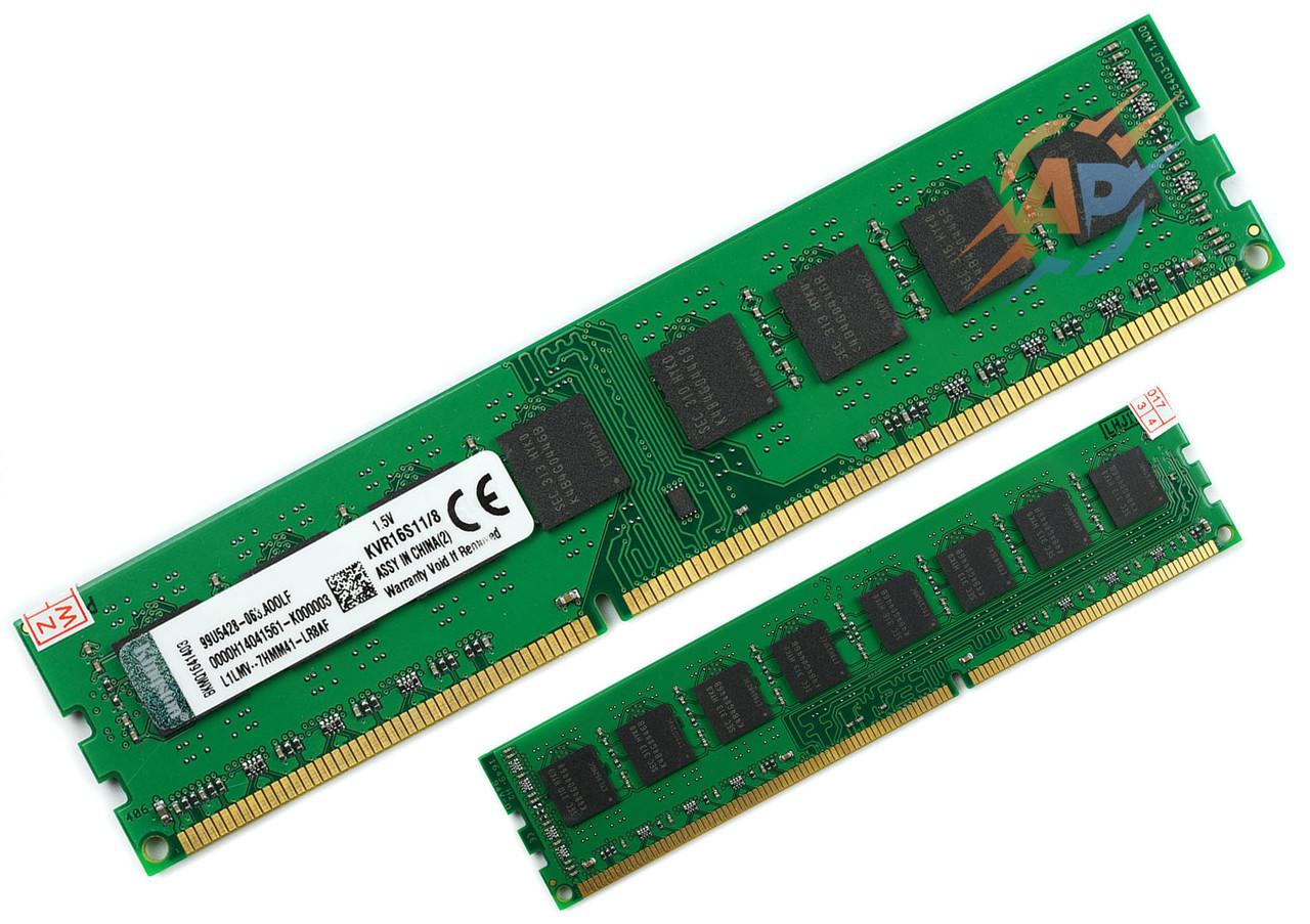 Оперативная память DDR3 8Gb  PC3-12800 1600МГц для AMD Soket AM3, AM3+, FM2, FM2+ 1600MHz ДДР3 8Гб