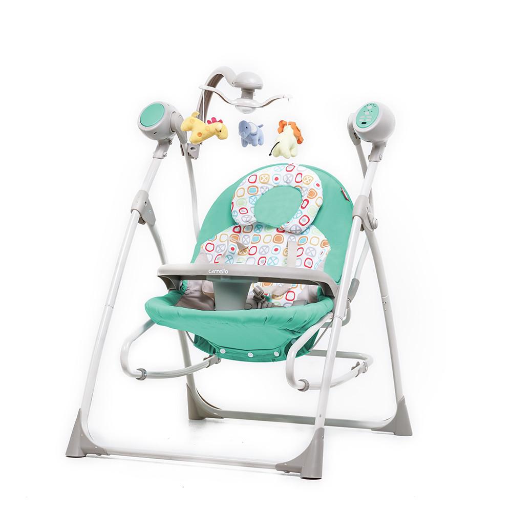 Детские колыбель-качели CARRELLO Nanny 3в1 CRL-0005 Azure