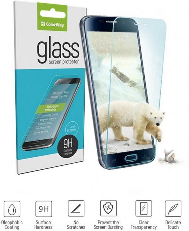 Защитное стекло ColorWay Full Cover Full Glue Black для Xiaomi Redmi 8