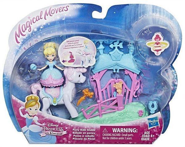 """Hasbro Маленькая кукла """"Принцесса крутящаяся и транспортное средство"""" в ассортиментее"""