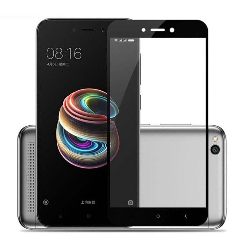 Захисне скло Caisles 5D Xiaomi Redmi 5A Чорне
