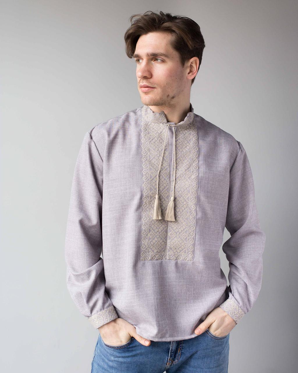 Мужские сорочки с вышивкой