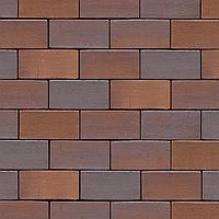 Клинкерная брусчатка MUHR  04 Красно-коричневый пестрый