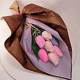 Букет з мильних квітів троянди Квіткова композиція з мила ручної роботи Мильний букет, фото 6