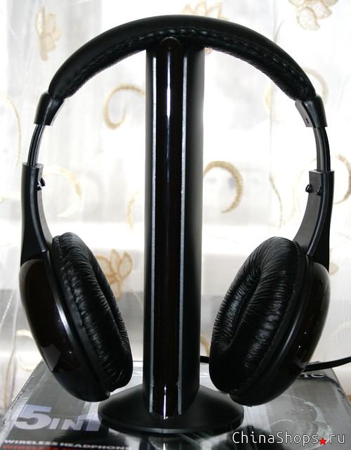 Навушники безпровідні Wireless Headphone - навушники з FM радіо