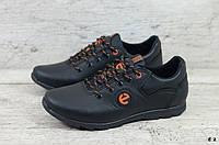Мужские кожаные кроссовки Ecco (Реплика) (Код: Е 2  ) ►Размеры [40,41,42,43,44,45], фото 1